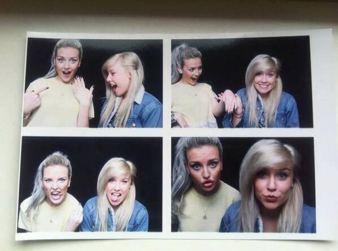 Perrie Edwards photo booth