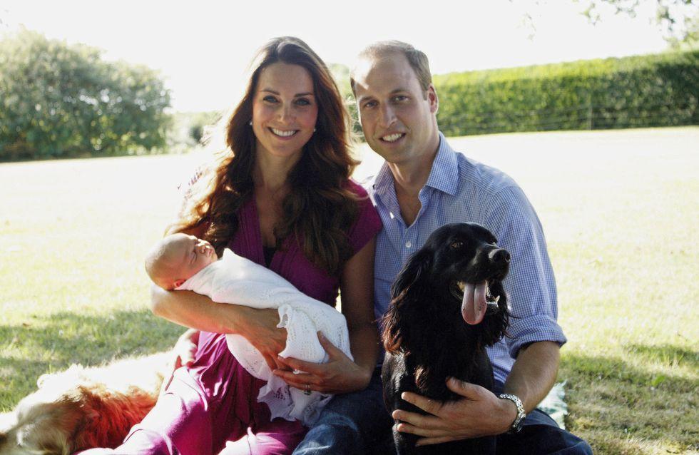 La photo officielle du prince George désapprouvée par les Britanniques