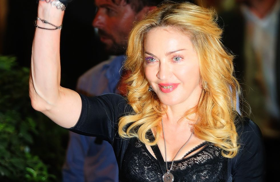 Madonna : Une nouvelle dentition en or et diamants