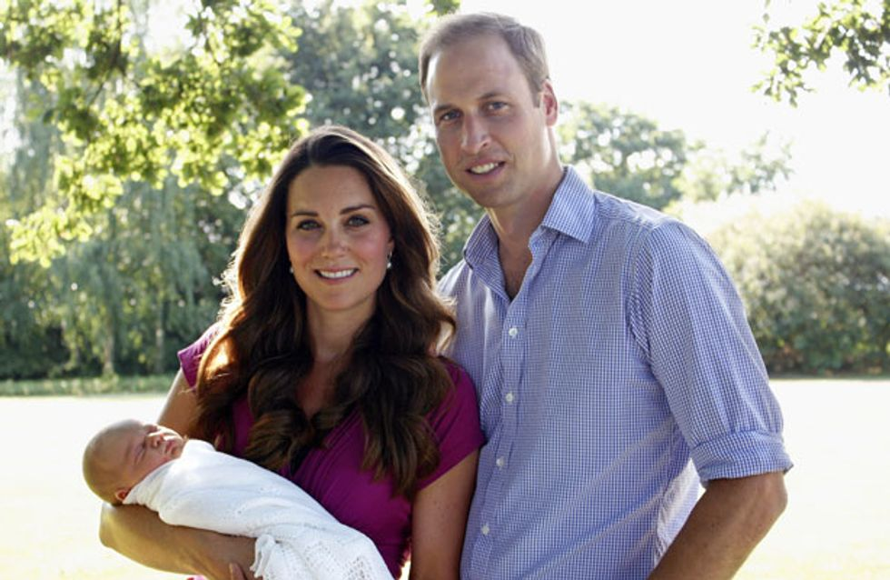 Revealed: Prince William and Kate Middleton's plans for George's bedroom