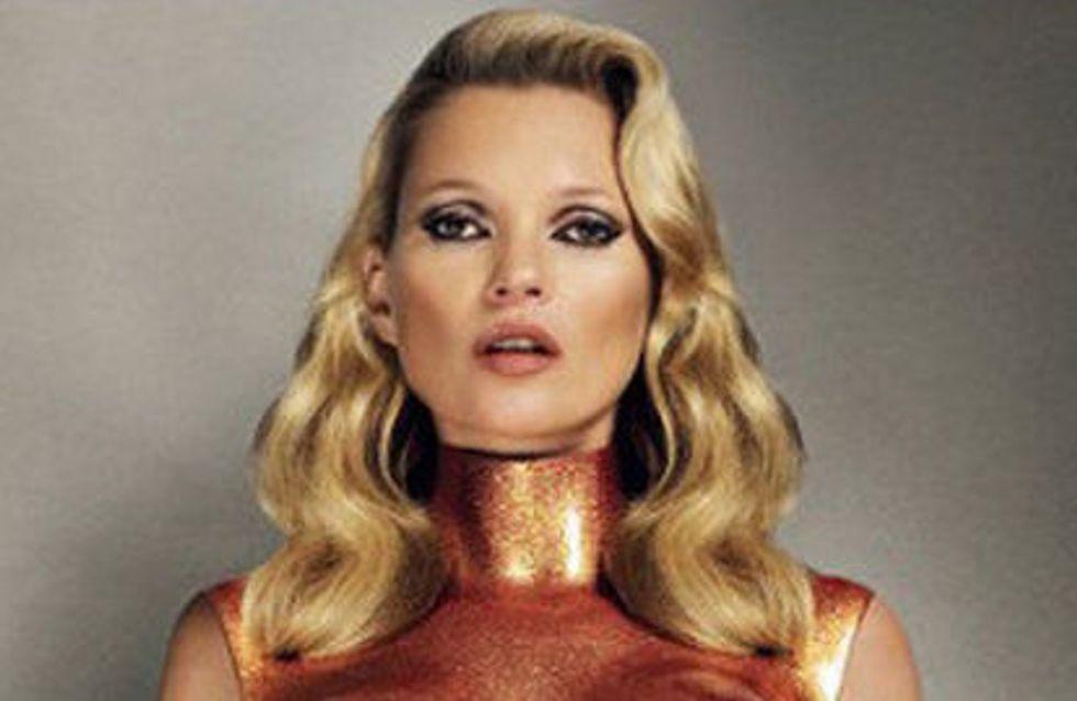 Kate Moss se transforme en robot sexy pour Pop magazine