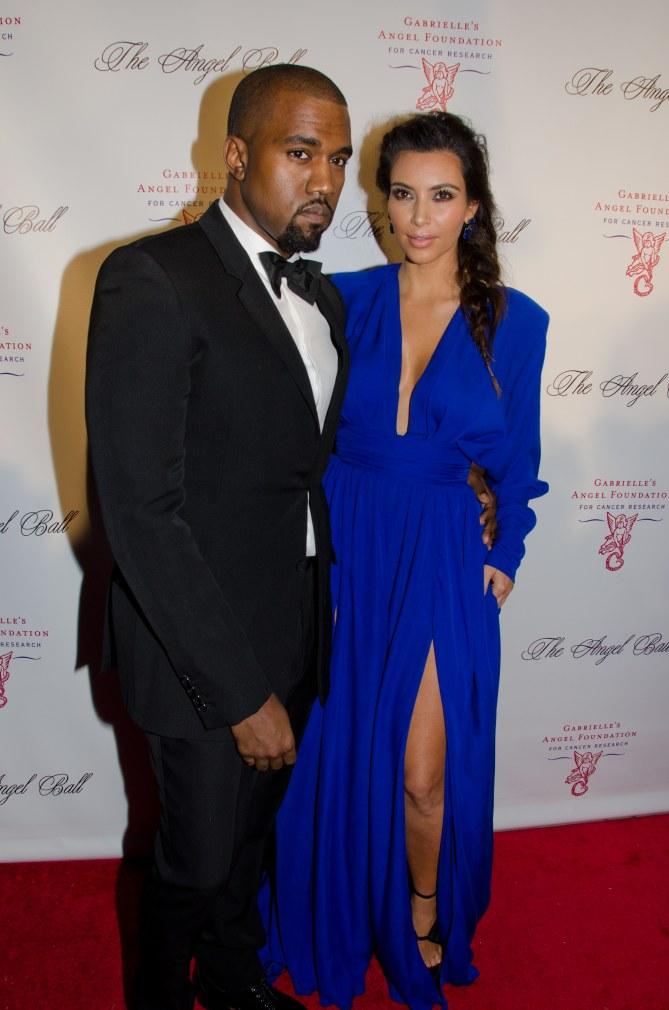 Kanye West, fou amoureux de Kim Kardashian