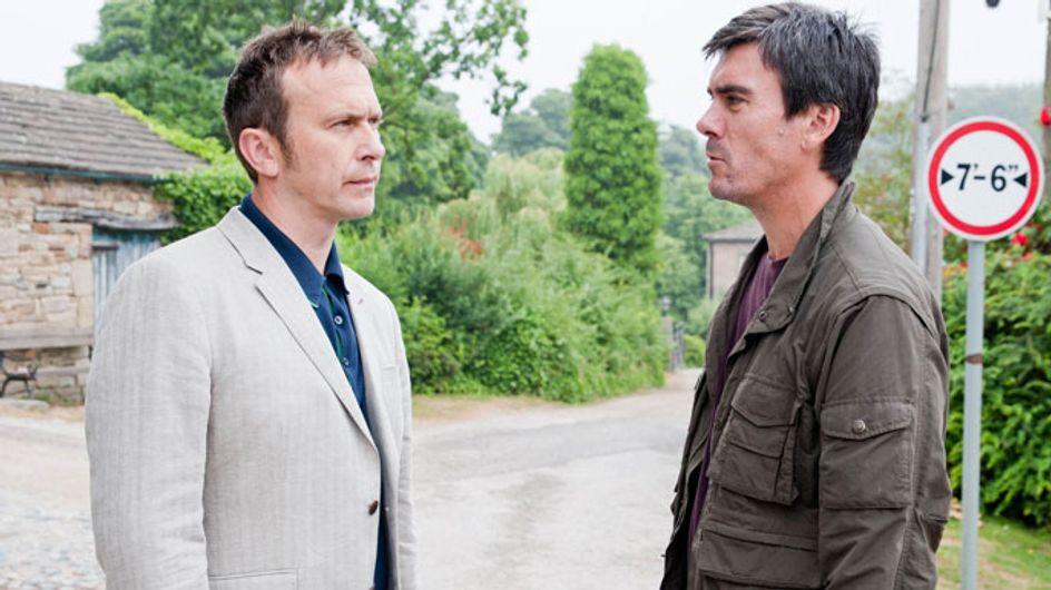 Emmerdale 06/09 - Adam thinks Declan's set him up