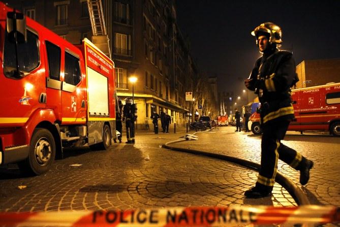 Incendies en France
