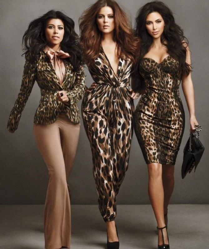 Les soeurs Kardashian préparent leur premier défilé
