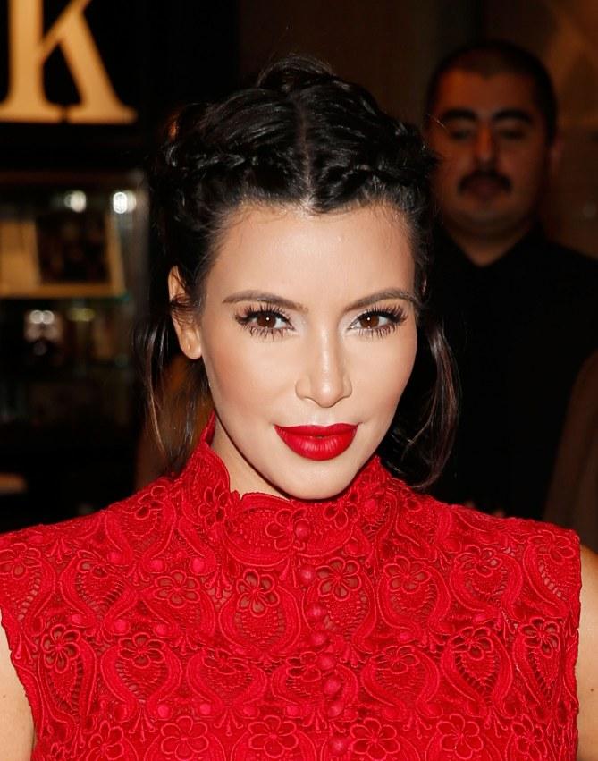 Kim Kardashian, toujours un maquillage parfait