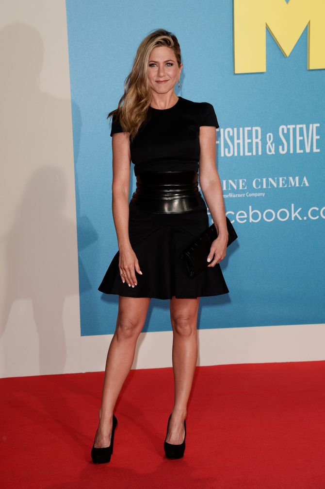 Jennifer Aniston toujours canon sur le tapis rouge