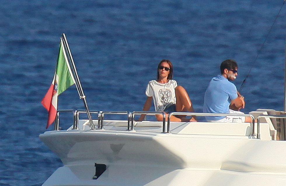Toffanin-Berlusconi annoiati al mare