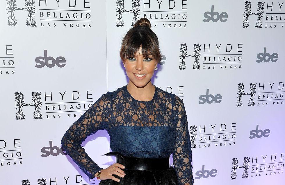 Kourtney Kardashian : Serait-ce un baby-bump ? (Photo)