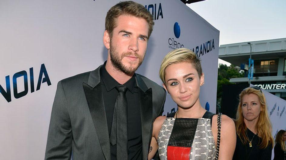 Did Liam Hemsworth boycott Miley Cyrus' VMA performance?