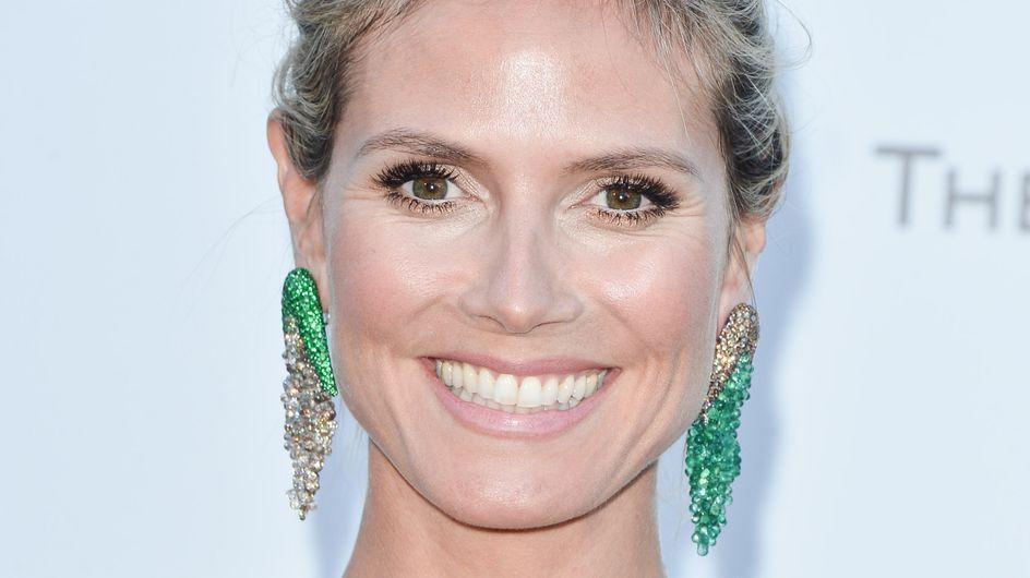 Heidi Klum : Elle s'affiche sans maquillage (photo)