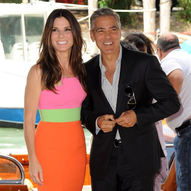 George Clooney e Sandra Bullock
