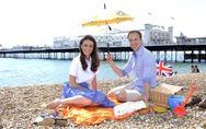 Un pic nic per William e Kate: foto
