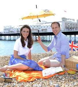 Un pic nic per William e Kate: foto