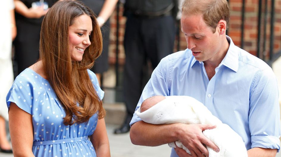 Prince William chooses baby George's godfather