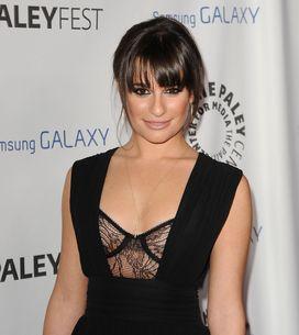 Glee : Lea Michele si courageuse sur le tournage de l'épisode hommage à Cory Mon