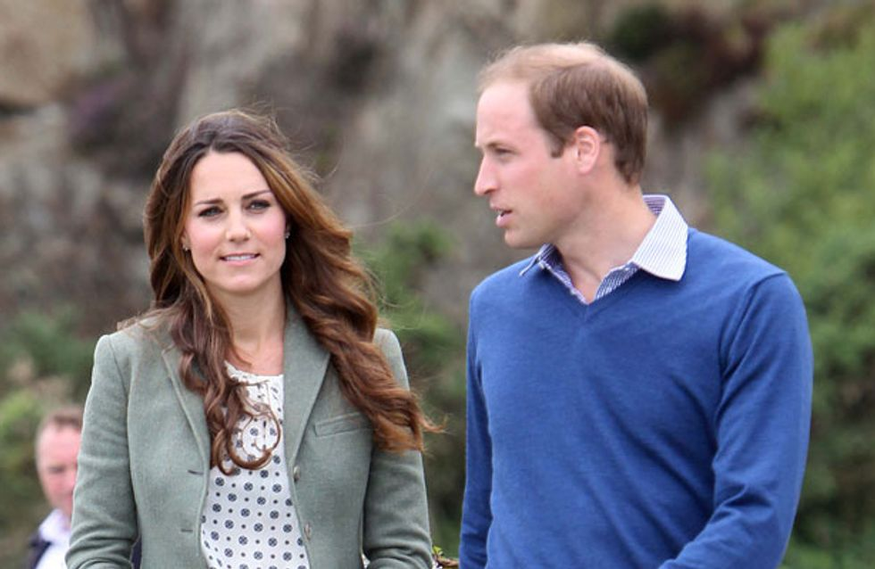 Kate Middleton shows off post-baby body in Anglesey with Prince William