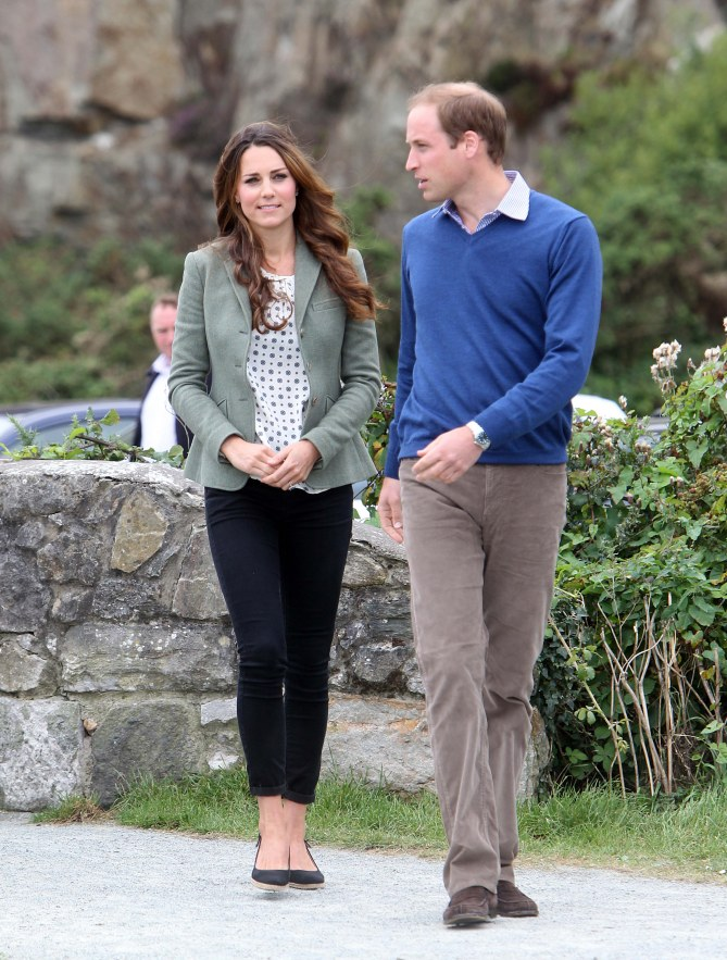 Kate Middleton et le Prince William à Anglesey