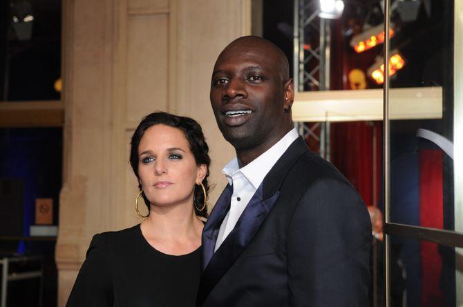 Omar Sy et son épouse Hélène