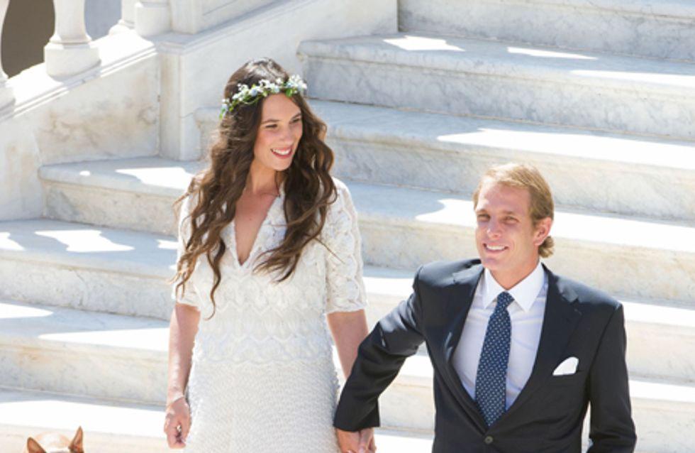 Andrea Casiraghi y Tatiana Santo Domingo ya son marido y mujer