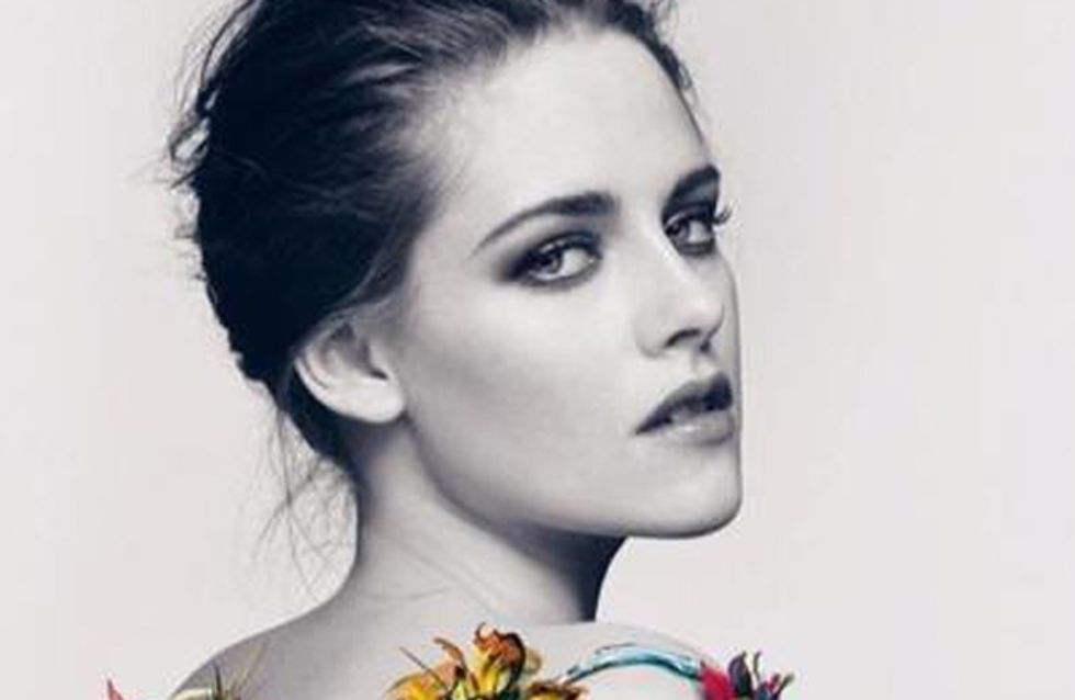 Kristen Stewart goes topless for new fragrance ad!