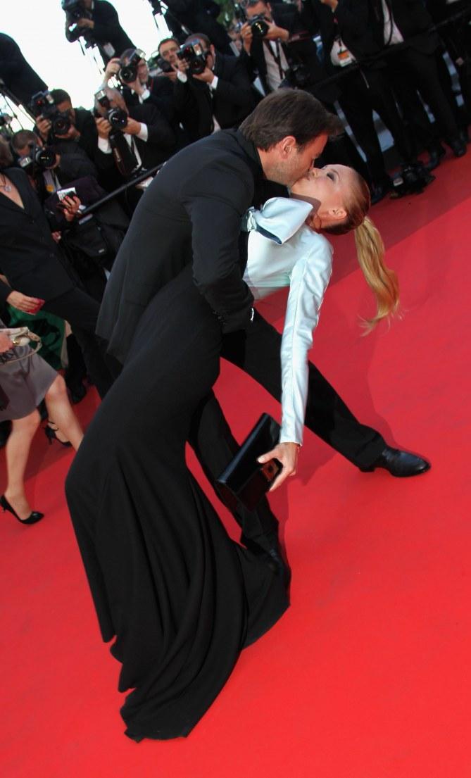 Clovis Cornillac et Lilou Fogli à Cannes en 2011