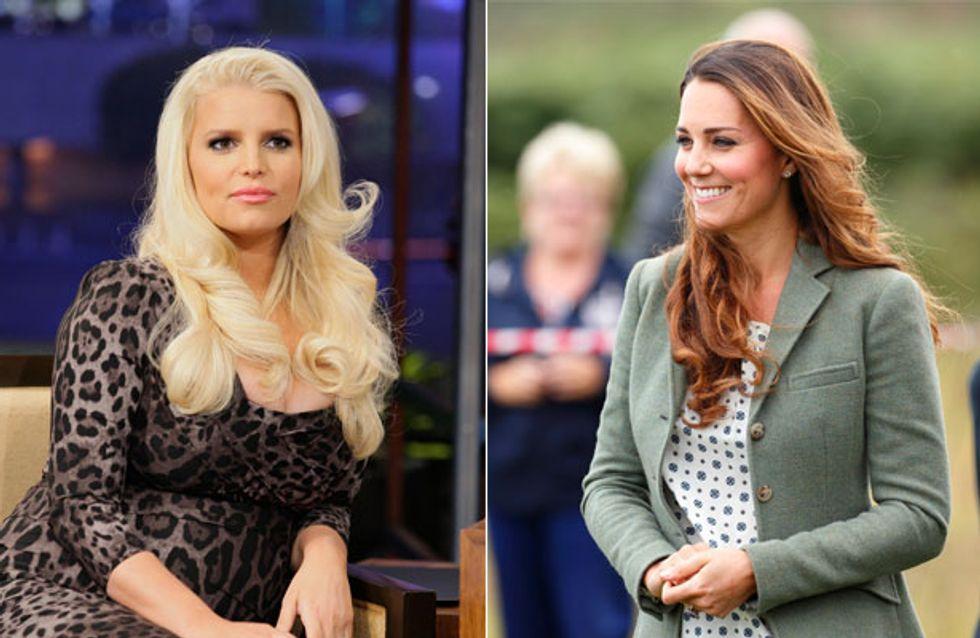 Kate Middleton wieder superschlank - Ist Jessica Simpson neidisch?