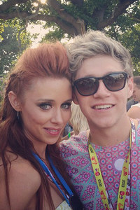 Niall Horan and Una Healy at V Festival