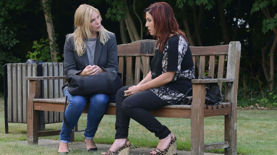 EastEnders 10/09 - Kat meets Ronnie at the prison