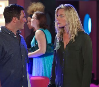 EastEnders 13/09 - Ronnie lets Carl know who's boss
