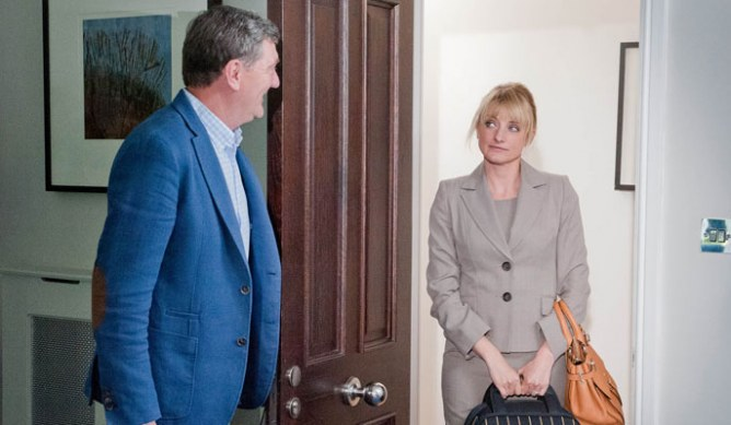 Nicola goes to see Steve
