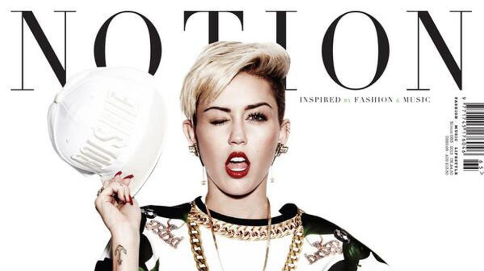 Miley Cyrus hyper sexy en couverture de Notion