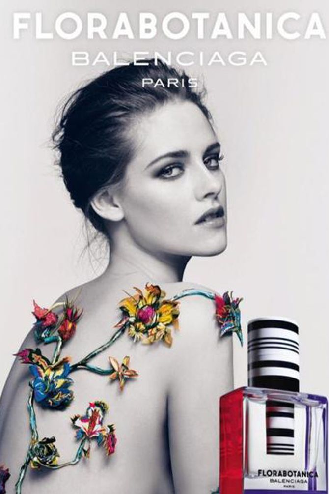 Kristen Stewart poses topless for new fragrance ad