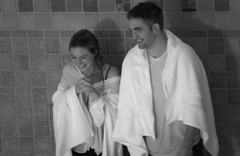 Robert Pattinson pour Dior : Les coulisses du tournage en vidéo