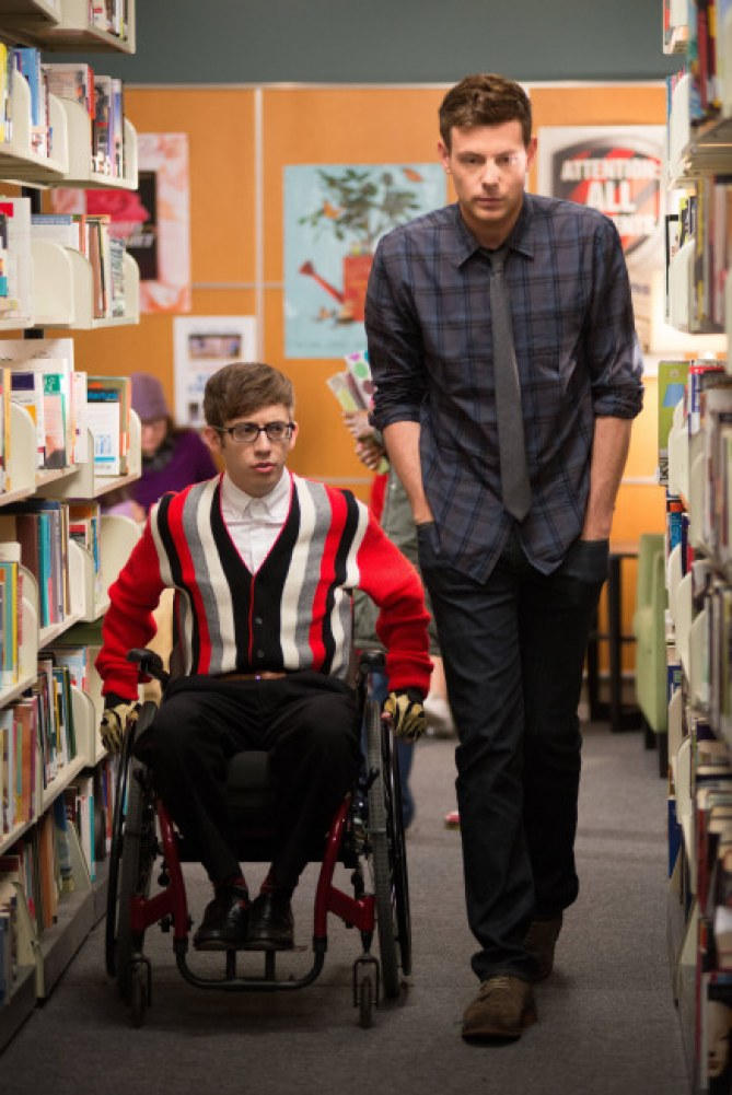 Cory Monteith et Kevin McHale