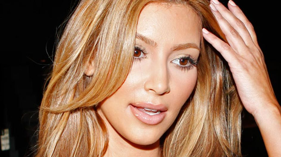 Kim Kardashian dyes her hair blonde for new mum make-over!