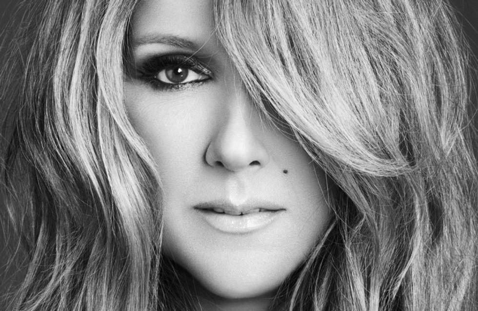 Céline Dion : Retouchée à l'extrême sur la pochette de son prochain album (Photo)