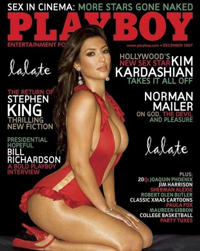 Kim Kardashian pour Playboy