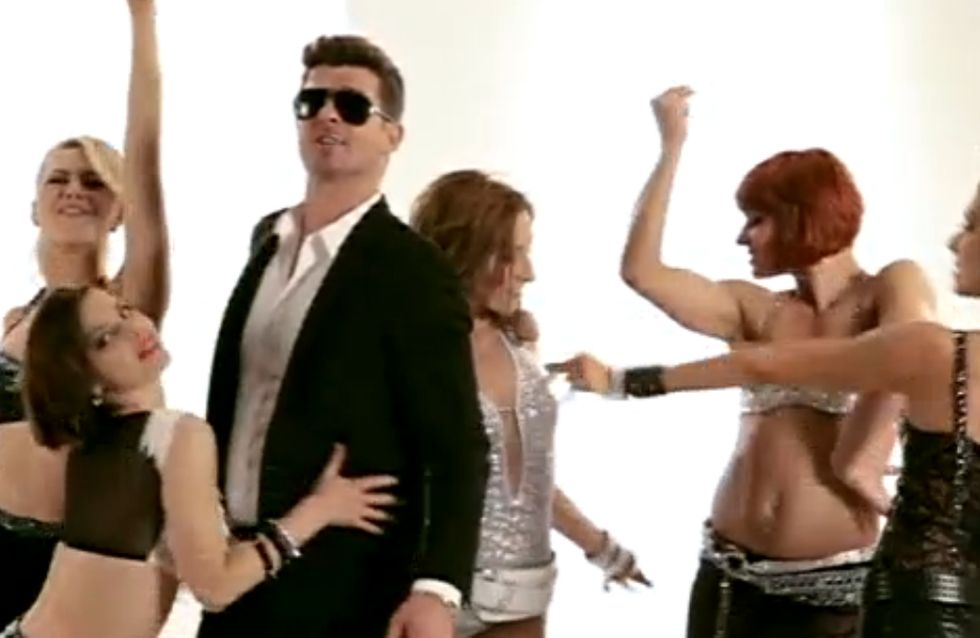 Danse avec les stars 4 : Fauve Hautot, son show sexy avec Robin Thicke (Vidéo)