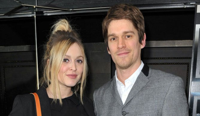 Fearne Cotton and Jesse Wood