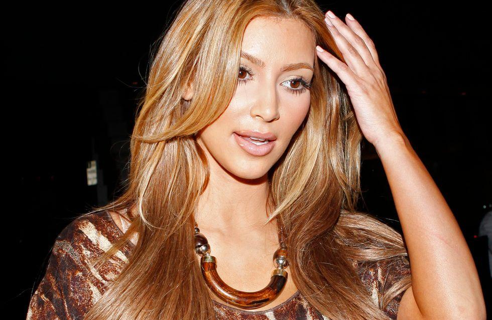 Kim Kardashian : Elle (re)devient blonde