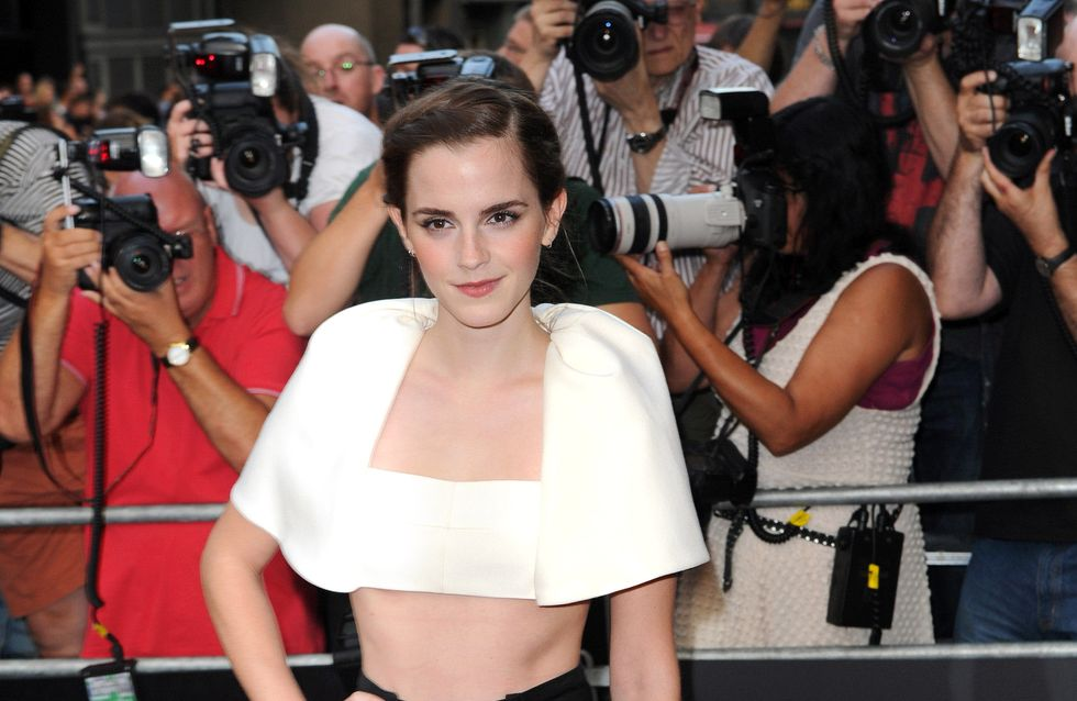 Emma Watson et sa tenue mi-figue mi-raisin
