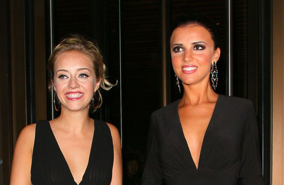 Double date with Max George? Lucy Mecklenburgh on night out with Tom Parker's girlfriend