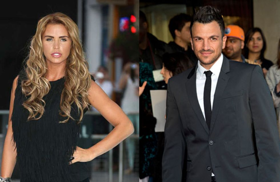 Katie Price hurt by Peter Andre baby snub