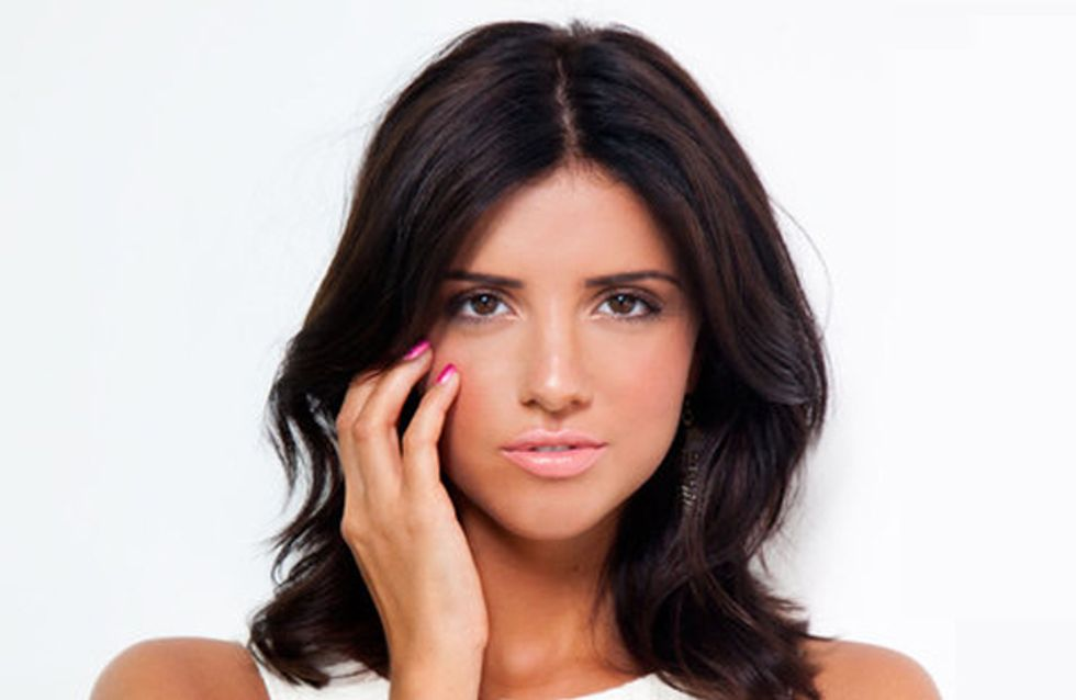 Get Lucy Mecklenburgh's super fast mani with Nutra Nail's Gel Perfect polish