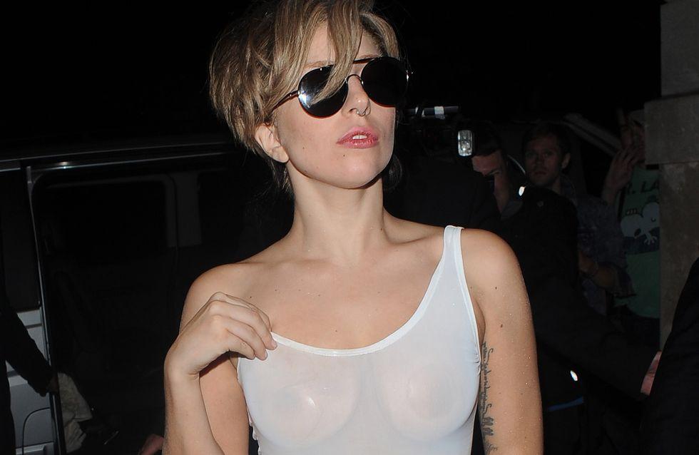 Lady Gaga : Un body transparent qui dévoile tout (Photos)