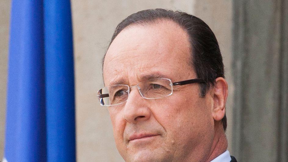 François Hollande : Une photo peu flatteuse du président retirée par l'AFP