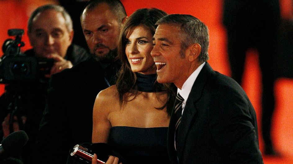 Clooney:parole d'affetto per la Canalis