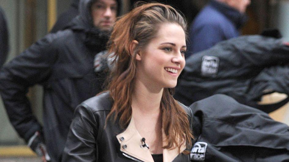 Kristen Stewart finally happy after Robert Pattinson split?