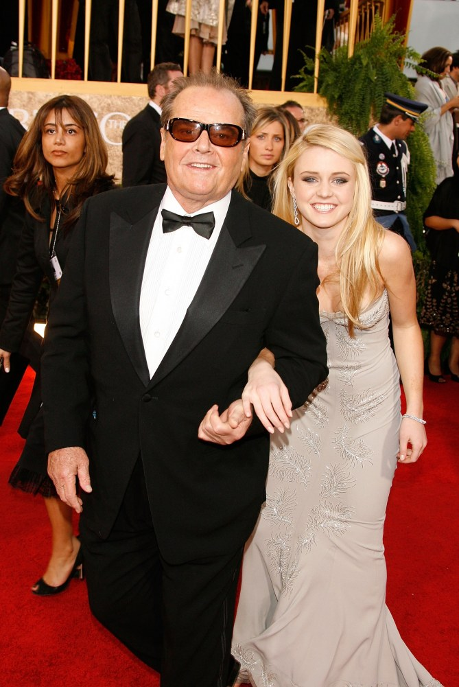 Jack Nicholson & Tochter Lorraine